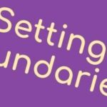 Video: Pre-chat for the 'Setting boundaries' workshop
