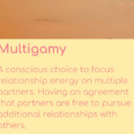 Multigamy – the what, how and why?