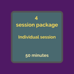 Individual 4 session package